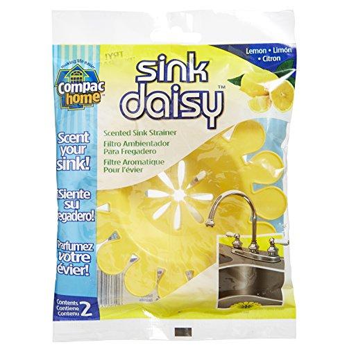 Compac Sink Daisy, Scented Kitchen Sink Strainer -...