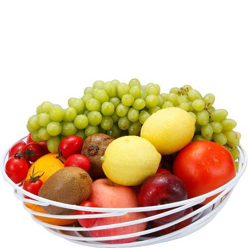 GuangYang Big Fruit Bowl - Cesta de verduras de forma...