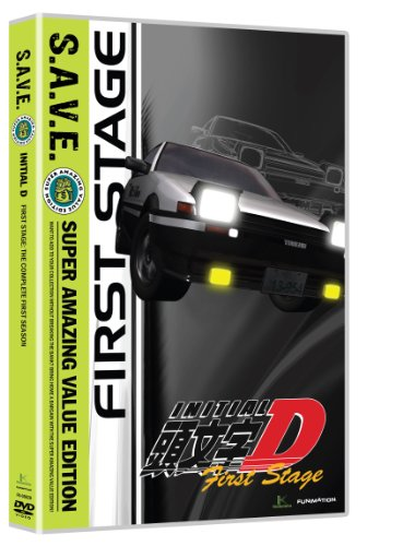 Initial D: Stage One - Save (4pc) / (Box) [DVD] [Region 1] [NTSC] [US Import]