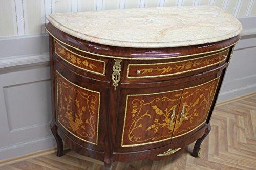Buffet barocco in marmo di petto di stile antico stile antico barocco Louis XV mkba0121