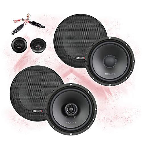 MB Quart Front/Heck 16,5cm/165mm Auto Lautsprecher/Boxen/Speaker Komplett-Set...