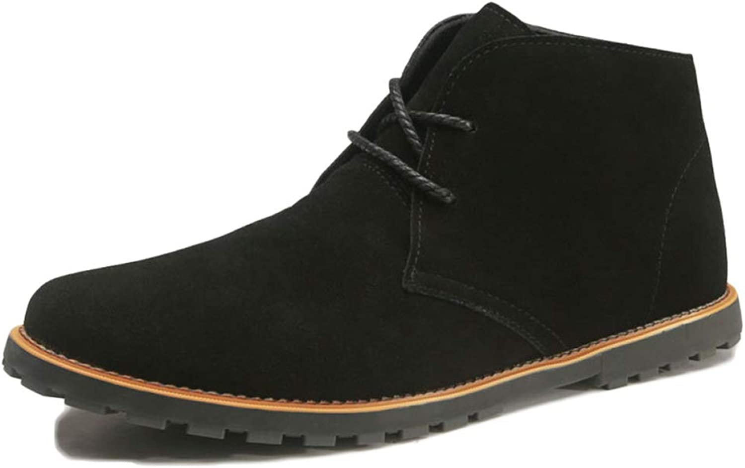Men Martin Boots Autumn Leather Desert Breathable Chelsea Boots Fighting On Foot Snow shoes