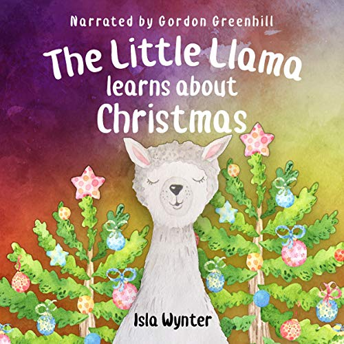 The Little Llama Learns About Christmas cover art