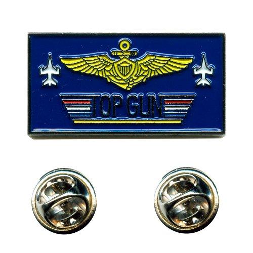 TOP GUN Navy Fighter USA Weapons School Emblem Metall Button Pin Anstecker 0646