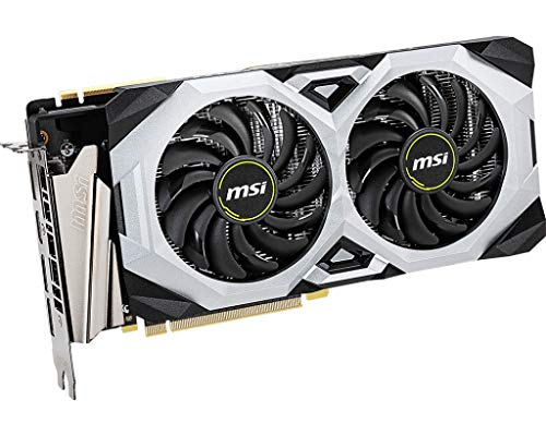 MSI Gaming GeForce RTX 2070 Super 8GB GDRR6 256-bit HDMI/DP NVLink Torx Fan Turing Architecture Overclocked Graphics Card (RTX 2070 Super Ventus OC)
