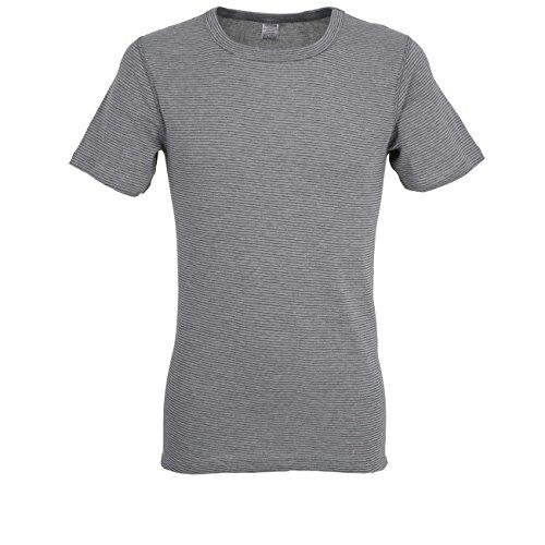 Ceceba Herren T-Shirt, Kurzarm, Polyester, Baumwolle, Dunova, grau, Uni L