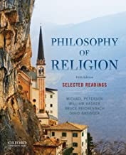 Best philosophy of religion an anthology 5th edition Reviews