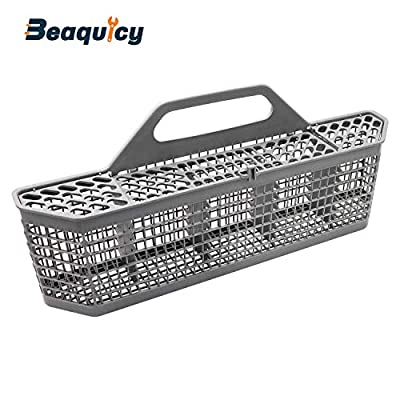 "Beaquicy WD28X10128 Dishwasher Silverware Basket (19.7""x3.8""x8.4"") - Replacement for GE Accessory Storage Box"