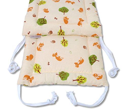 Baby Nestchen Bettumrandung in verschiedenen Designs 200 x 30 cm von HOBEA-Germany, HOBEA Muster:Waldtiere