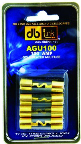 db Link AGU100 Gold AGU 100 Amp Fuses