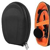 Geekria UltraShell Headphones Carrying Case for VXI BlueParrott B550-XT, B450-XT, B350-XT, B250-XT, B250-XTS, Truck Driver, Call Center, Cell Phone Protective Hard Shell On-Ear Headset Travel Bag