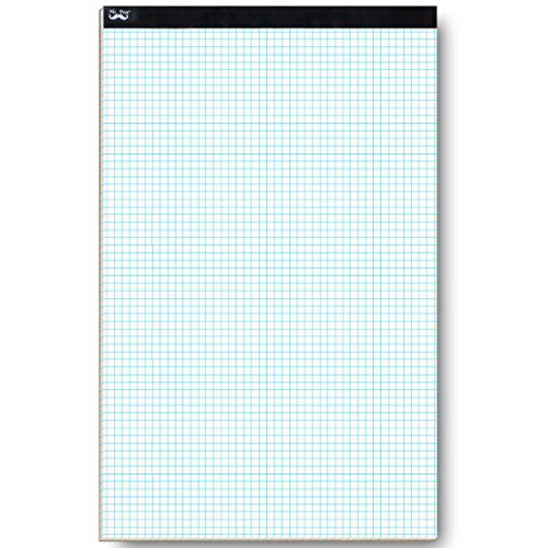 Mr. Pen Graph Paper, Grid Paper, 4x4 (4 Squares per inch), 17'x11', 22 Sheet