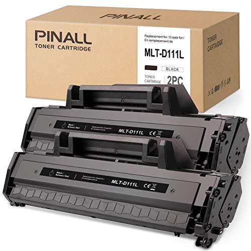 PINALL 2 compatibile con Samsung MLT-D111L D111L Toner nero per stampante Samsung Xpress M2026W M2070FW M2070F M2022W M2020 M2020 M2027W (confezione da 2)