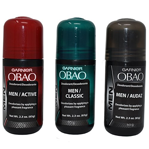 OBAO Assorted Deodorant for Men - Pack of 3