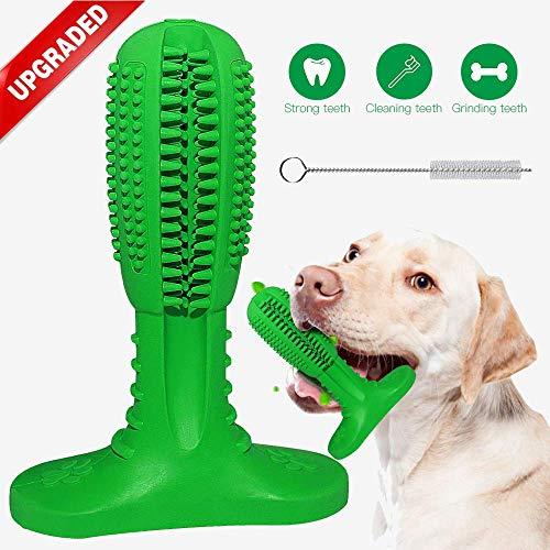 Hunde Zahnbürste Hundespielzeug Hund Kauen Welpen Zahnreinigung  Medium Kaustick aus Naturkautschuk Kauspielzeug für Hunde, Haustiere【 Neue Version 2018】