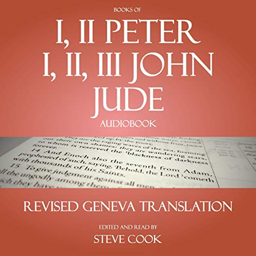 Books of I, II Peter; I, II, III John; Jude Audiobook cover art