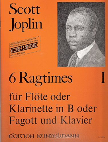 6 Ragtimes für Violine oder Violoncello und Klavier. Arrangiert von Dieter H. Förster