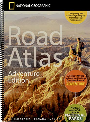 National Geographic Road Atlas 2021: Adventure Edition [United States, Canada, Mexico]
