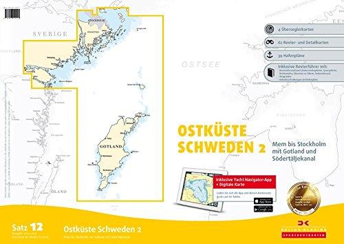 Satz 12: Ostküste Schweden 2 (berichtigt bis 2015): Mem bis Stockholm mit Gotland und Södertäljekanal