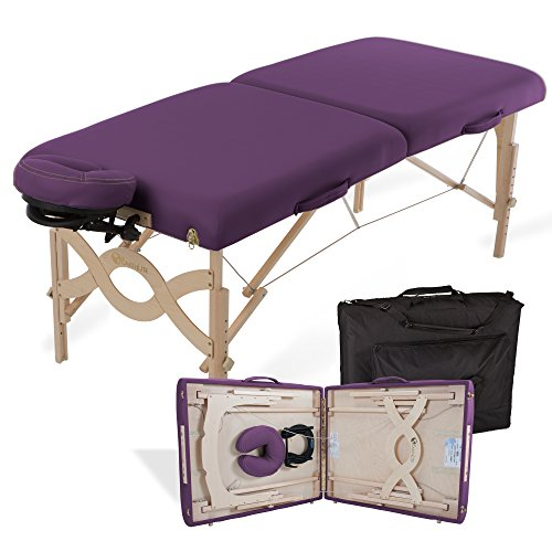 EARTHLITE Portable Massage Table Package AVALON – Reiki Endplate, Premium...