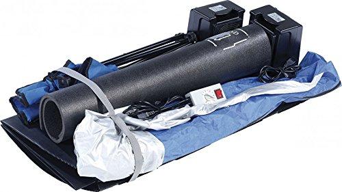 newgen medicals Mini Infrarotkabine: Tragbare Infrarot-Sauna V2 mit 2 Heizern, 1600 Watt (Mini Sauna für Balkon) - 4