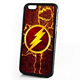 (For iPhone 6 / iPhone 6S) Durable Protective Soft Back Case Phone Cover - HOT30060 Superhero Flash