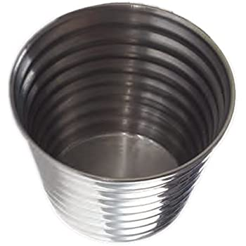 """American Metalcraft RSC4 Sauce Cup, Ribbed, Stainless Steel, 4oz. Capacity, 3"""" Dia., 2"""" H"""