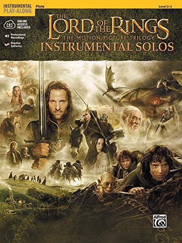 The Lord of the Rings Instrumental Solos: Flute, Book & Online Audio/Software (The Lord Of The Rings; The Motion Picture Trilogy)