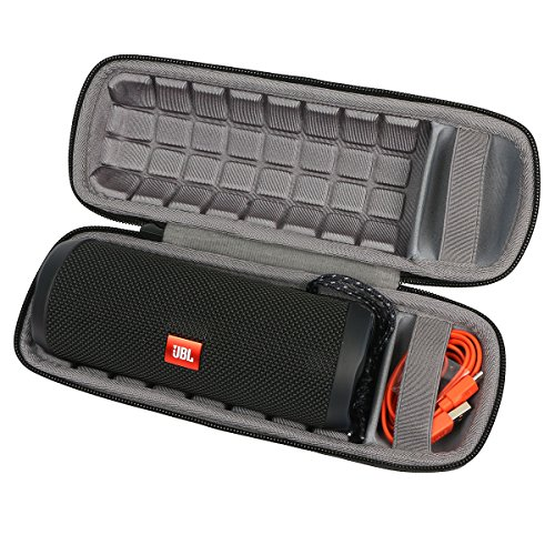 co2crea Hard Carrying Travel Case for JBL Flip 3 4 Waterproof Portable Bluetooth Speaker (Can't fit Charge 4 Speaker)