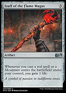 Magic: the Gathering - Staff of the Flame Magus (233/269) - Magic 2015