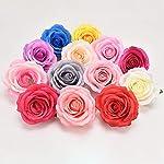 10pcs artificial fake flowers silk rose flower head for diy wedding party home decor wreath scrapbook supplies