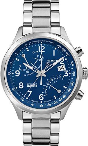 Timex Herren-Armbanduhr Man Iq Fly-Back Chrono Analog Quarz TW2P60600