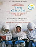 Three Cups of Tea: One Man's Mission to Fight Terrorism And Build Nations … One School at a Time