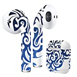 Airpods Skin + Case Skin Sticker Skin Decal for airpod Compatible with AirPods 1st(2016) and 2nd(2019) Stylish Covers for Protection & Customization 004511 Simple Green