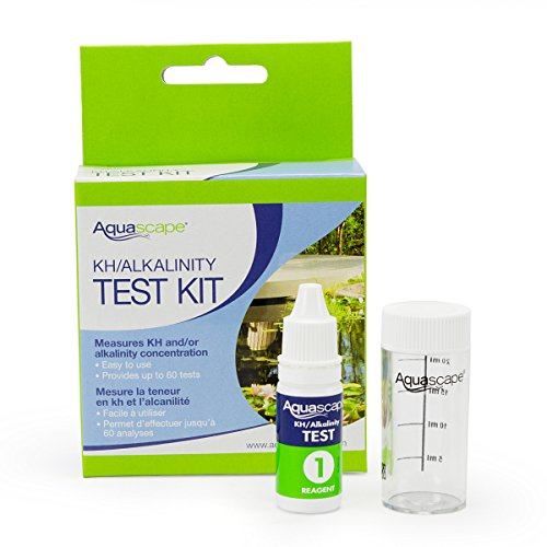 Aquascape 96019 Water Test Kit KH Alkalinity for Pond and Garden Features, 60 Tests