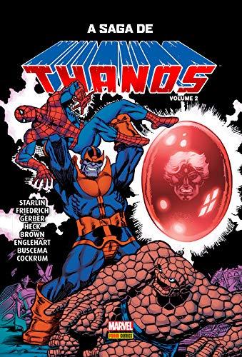A Saga De Thanos - Vol. 2: Capa Dura