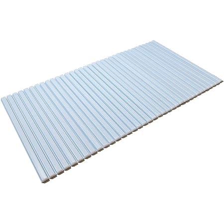 東プレ シャッター式風呂ふた ブルー 65×119cm S12