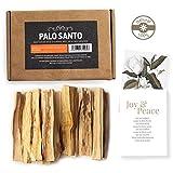 Aashram Premium Edicin de 200g de Ramas de Palo Santo -Ramas robustas con fragancia de madera de Palo Santos cosechadas ecolgicamente en Per para yoga, meditacin, relajacin, limpieza y curacin.