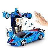 MUMUMI Induction Voiture Deformation Voiture télécommandée King Kong Robot Jouet Enfant de Charge surdimensionnée Lamborghinia Noël Racing Filles de garçon Cadeau d'anniversaire 2 en 1 Enfants Toy