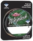 Berkley Whiplash Vert Super Tresse Jusqu'à 300m Bobines pour La Pêche