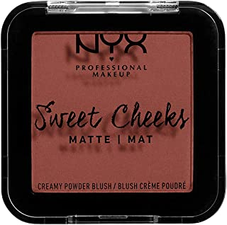 NYX PROFESSIONAL MAKEUP Sweet Cheeks Creamy Powder Blush Matte, Totally Chill 01