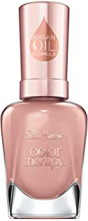 Sally Hansen Color Therapy Nail Polish, Dusty Plum, Blushed Petal