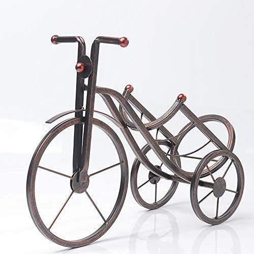 Gannon Front Europäische Kreative Schmiedeeisen Metall Dreirad Weinregal Dekoration Home Wohnzimmer Tisch Weinschrank Dekoration Einrichtung