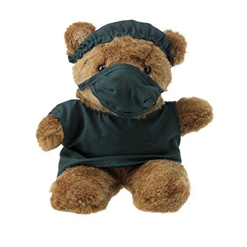 eBuyGB 1315209 Plüsch-Teddybär, süßes Spielzeug, Arzt, 9-Inch