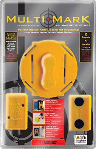 Calculated Industries Multi Mark Drywall Cutout Locator Tool  $17 at Amazon
