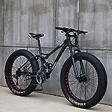 ビーチスノーモービルファットバイク可変速自転車フルサスペンションMTBマウンテンバイク