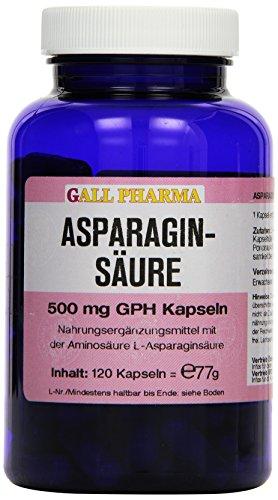 Gall Pharma Asparaginsäure 500 mg GPH Kapseln, 120 Kapseln