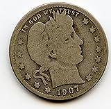 1907 Barber Quarter G-06