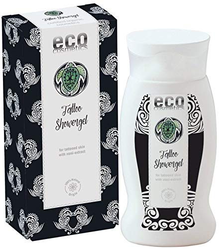 eco cosmetics Bio Tattoo Duschgel mit Noni (6 x 200 ml)