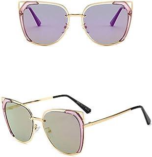 Fashion Colorful Ocean Sunglasses for Women Fashion Polarized Sunglasses, Retro (Color : Purple)